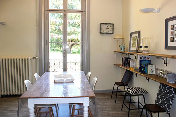 Séjour salle à manger Château de la Roche