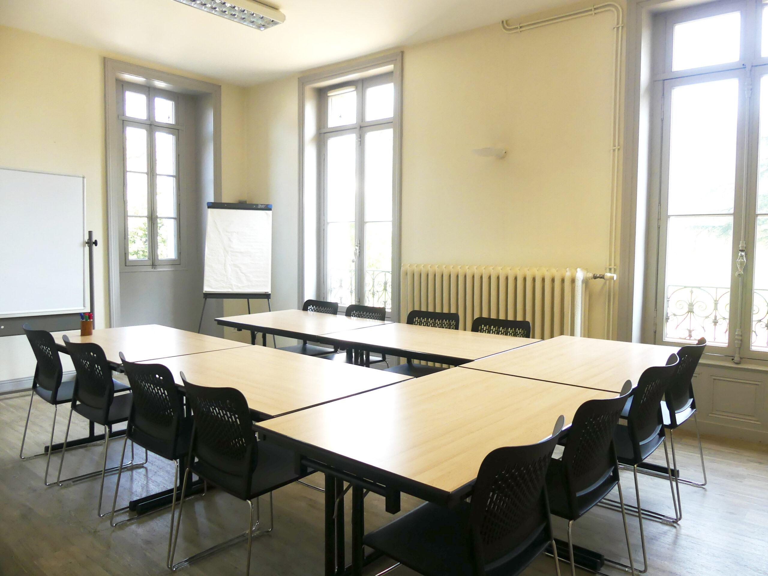 Salle de réunion 1 château de la Roche